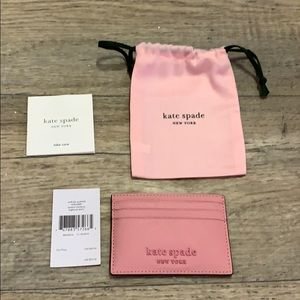 NWT Authentic Kate Spade card holder